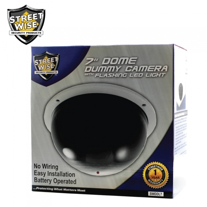 Large Dome Dummy Camera 7""