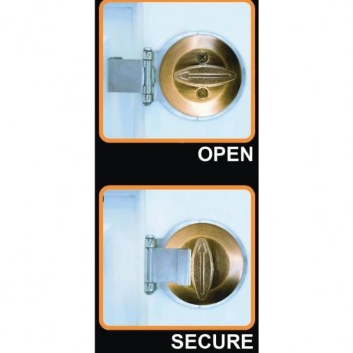 Dead Bolt Secure- Brass