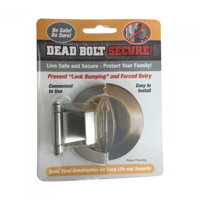Dead Bolt Secure - Nickel BCDBSNCEP