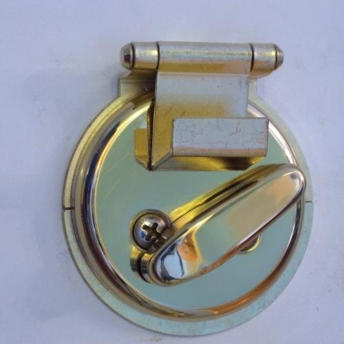 Dead Bolt Secure - Nickel