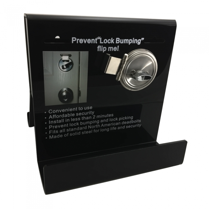 Deadbolt Secure Plexiglass Display BCDBSCDCEP