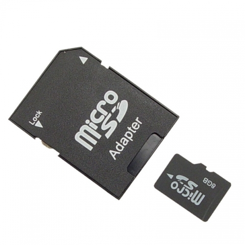 8GB Micro memory card with adaptor BCMSD8GBCEP