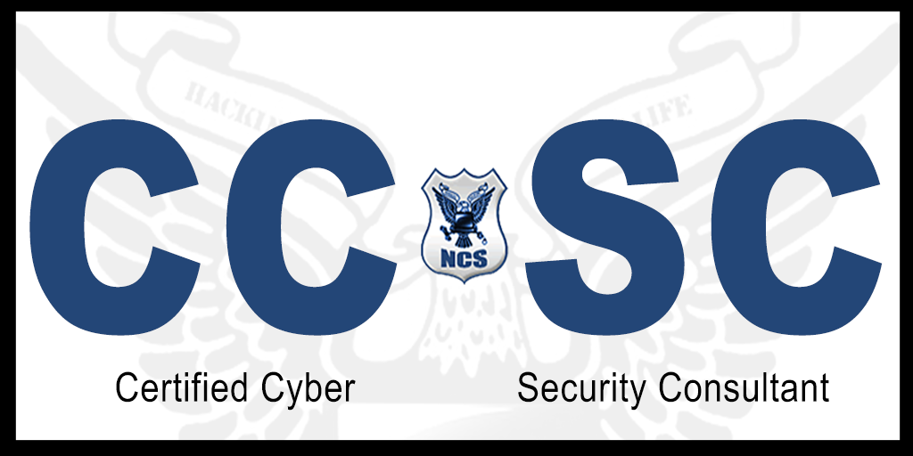Certified Cyber Security Consultant CCSC