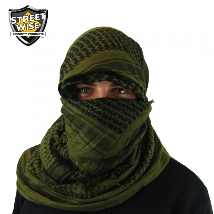 Tactical Shemagh Olive Drab BCSWTSODCEP
