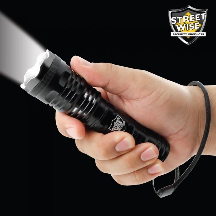 Tactical Cree Flashlight w/ Slide Zoom BCSWFZ33CEP