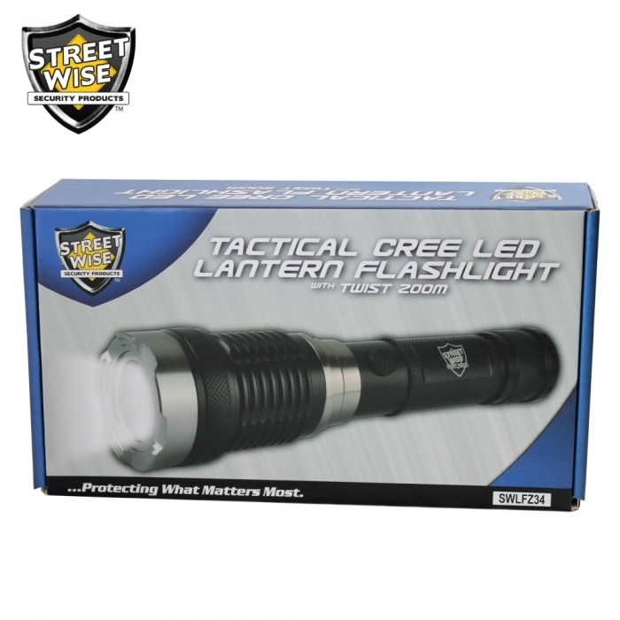 Cree Lantern Flashlight w/ Twist Zoom