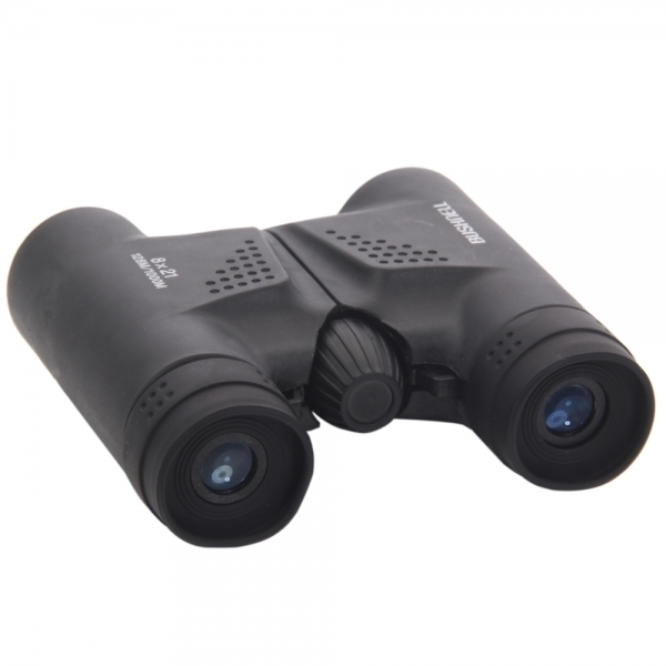 8x21 Powerview Compact Folding Roof Prism Binocular Black BC89008595TM