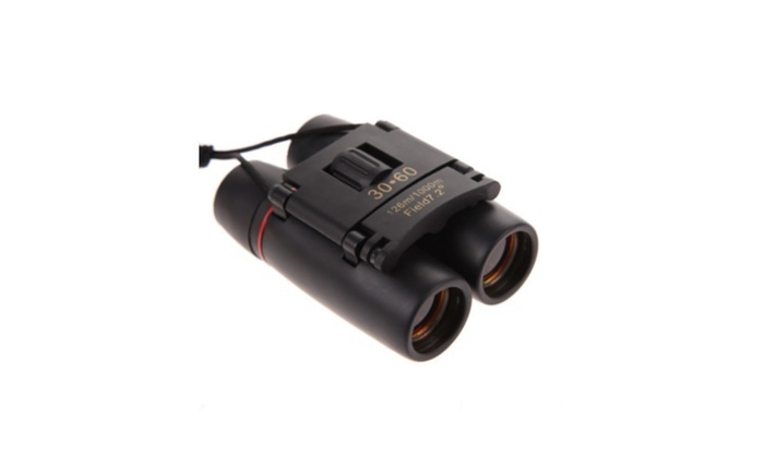 Perfect Travel Folding Binoculars Telescope+Case New Vision BCPTFGPN