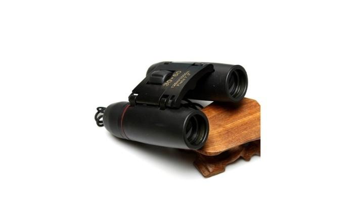 Perfect Travel Folding Binoculars Telescope+Case New Vision