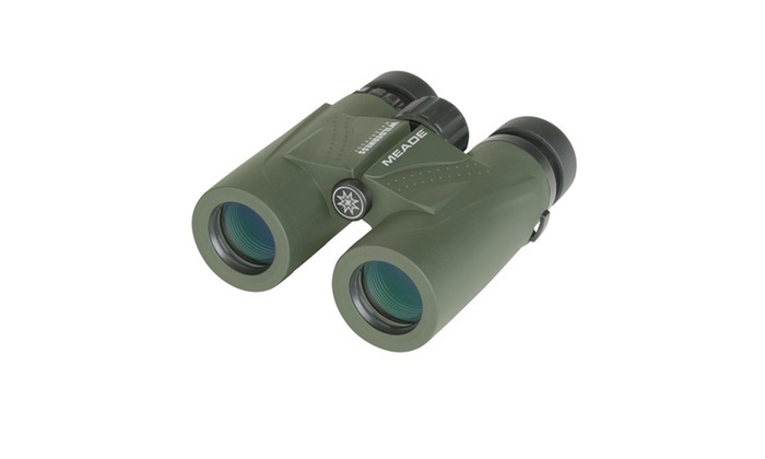 Meade 125023 Wilderness Binoculars - 10x32 Green BC125023GPN