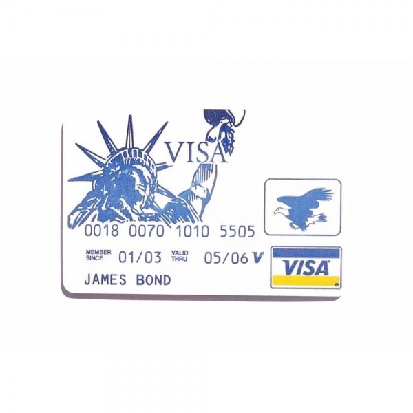 VISA James Bond Credit Card Pickset Hook Lock Pick Set Silver
