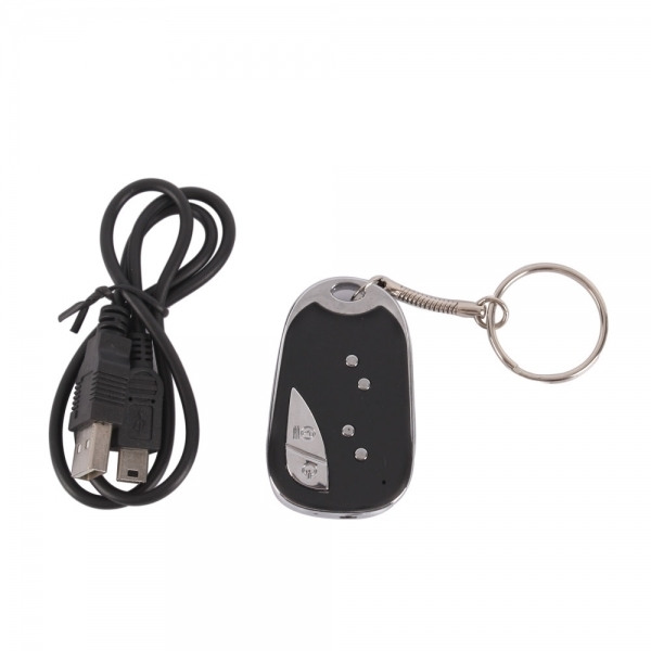 Mini Camcorder 909 Spy Car Keychain Camera Remote DVR Hidden Camera Video Recorder