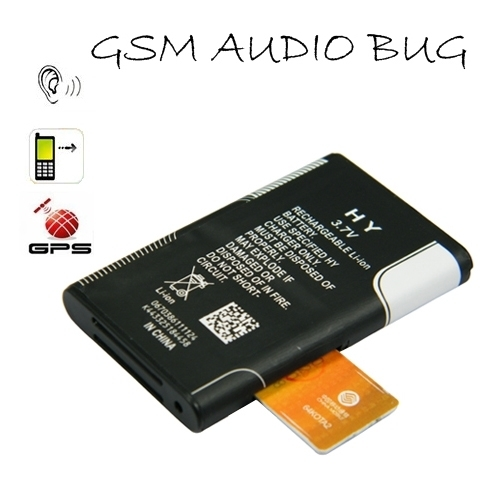 Quad-band GSM Battery Shape Audio Bug With Global Position Function BC540095CSC