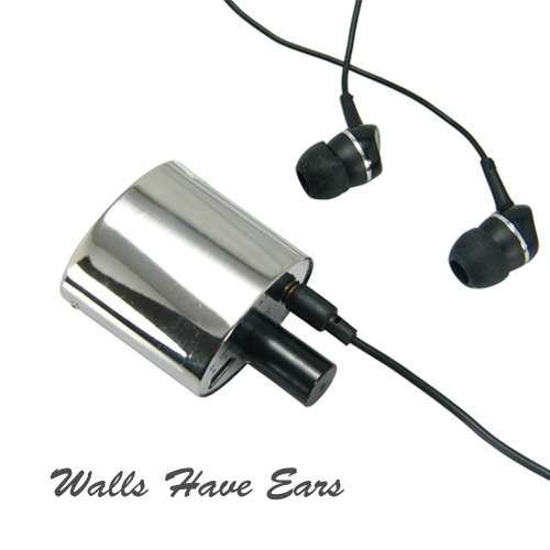HY-919 Powerful Audio Spy Listening Device Spy Bug with earphones Wall Have Ears
