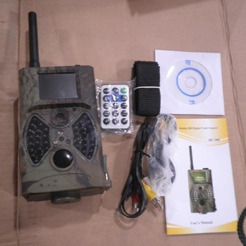 Waterproof HC300 GSM Hunting Camera 12MP Digital Trail Camera 2.0 inch TFT DVR IR
