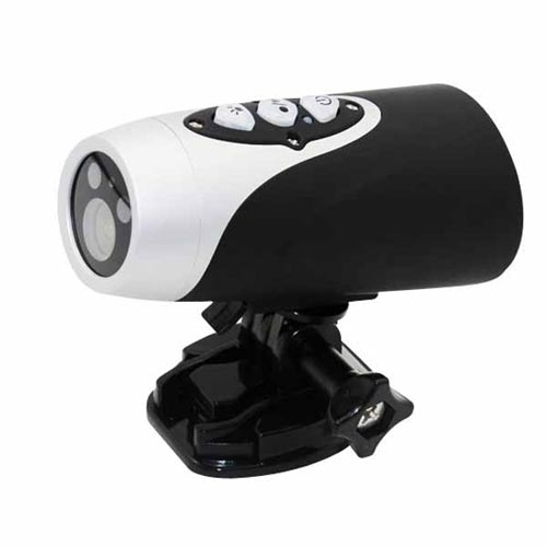 Waterproof 720P HD Sports Camera Helmet 20M Diving DVR Support TV Out