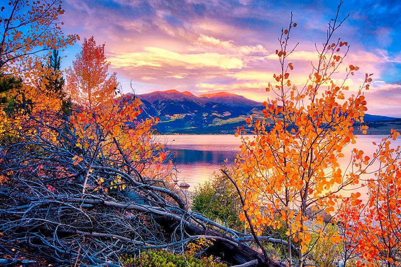 "20"" x 30"" METAL PRINT of Twin Lakes Sunrise, Colorado"