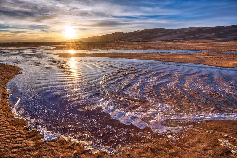 "20"" x 30"" METAL PRINT of Great Sand Dunes National Park, Colorado"