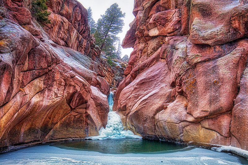 "20"" x 30"" METAL PRINT of Paradise Cove near Guffey, Colorado"