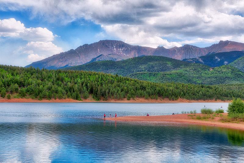 """20"""" x 30"""" METAL PRINT of Crystal Creek Reservoir, Colorado"""