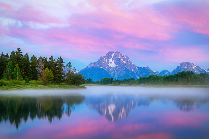 "20"" x 30"" METAL PRINT of Oxbow Bend Grand Teton National Park, Wyoming"