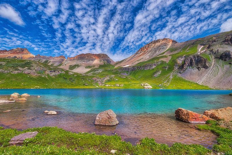 "20"" x 30"" METAL PRINT of Ice Lake Basin, Colorado"