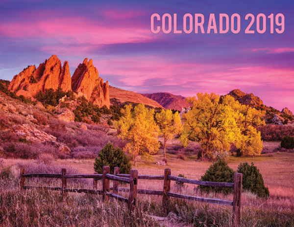 2019 Colorado Calendar