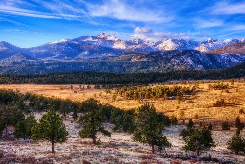 "12"" x 18"" METAL PRINT of Rocky Mountain National Park, Colorado"