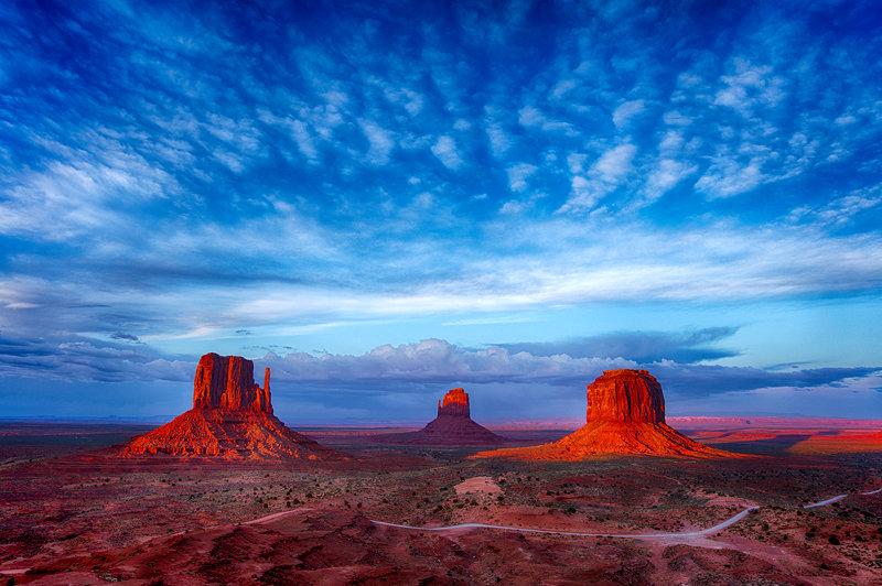 "12"" x 18"" METAL PRINT of Monument Valley, Arizona"