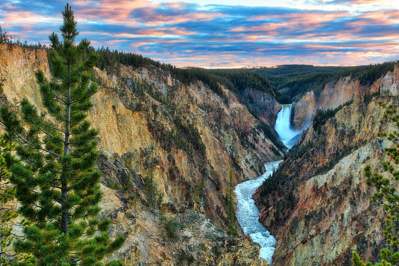 "12"" x 18"" METAL PRINT of Yellowstone National Park, Wyoming"