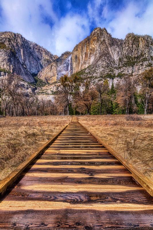 """12"""" x 18"""" METAL PRINT of Yosemite National Park, California"""