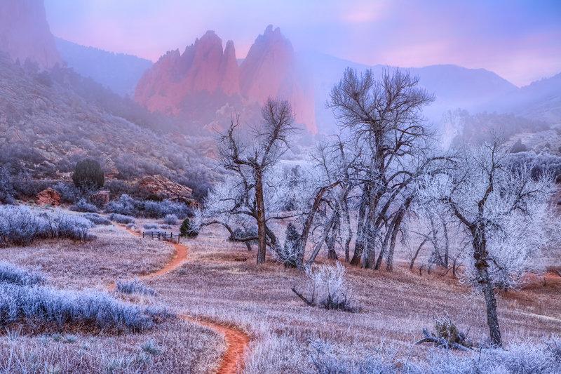 "12"" x 18"" METAL PRINT of Garden of the Gods, Colorado"