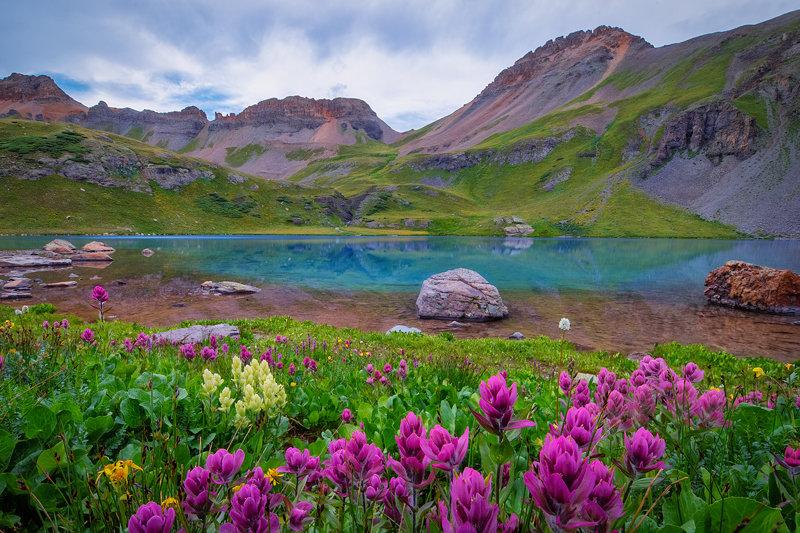 "12"" x 18"" METAL PRINT of Ice Lake Basin, Colorado"