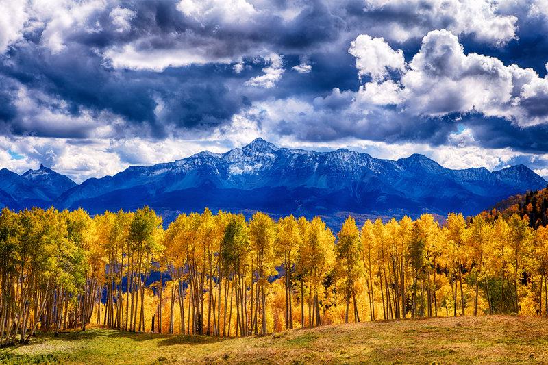 "12"" x 18"" METAL PRINT of Last Dollar Road, Colorado"