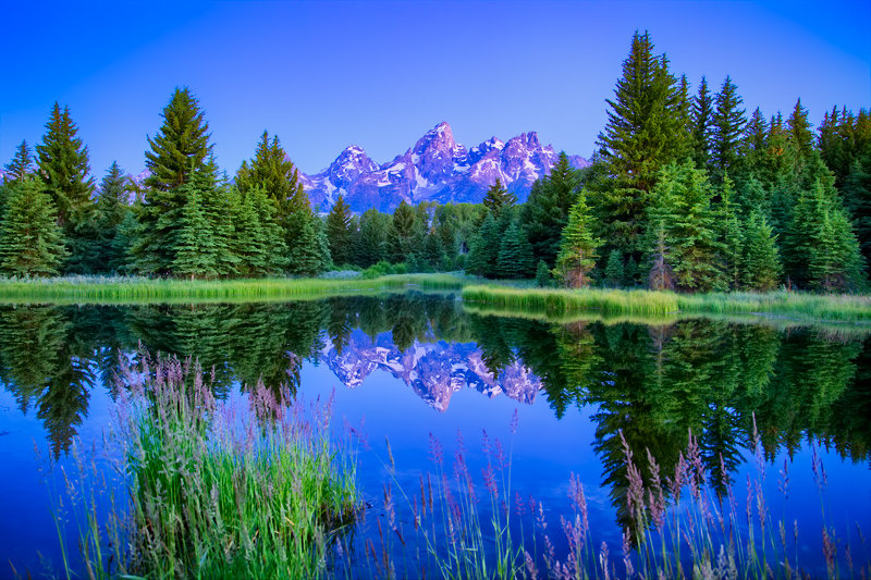 "12"" x 18"" METAL PRINT of Grand Teton National Park, Wyoming"