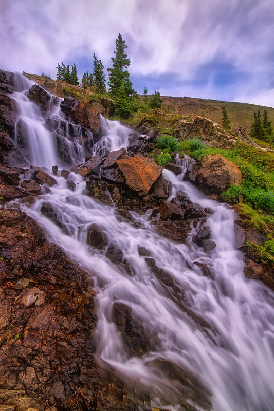 "12"" x 18"" METAL PRINT of Continental Falls, Colorado"