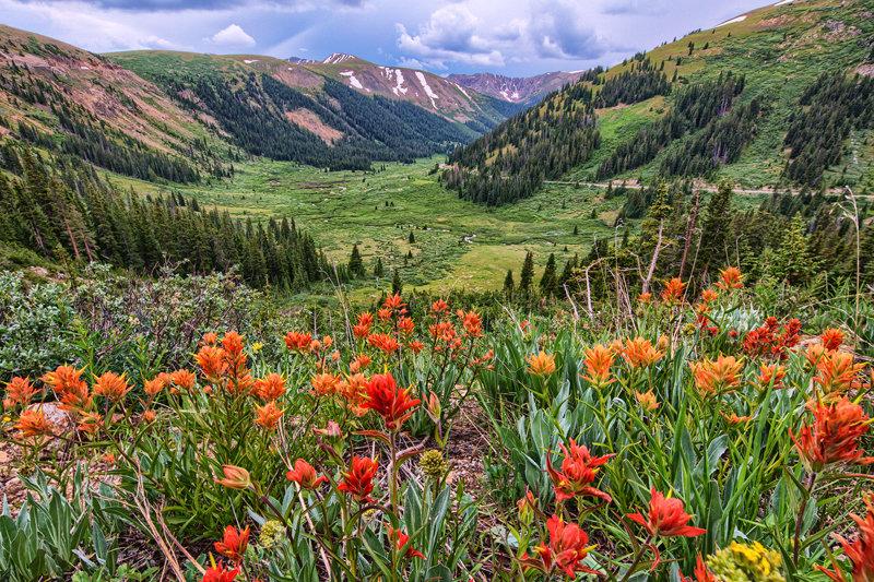 """12"""" x 18"""" METAL PRINT of Independence Pass, Colorado"""