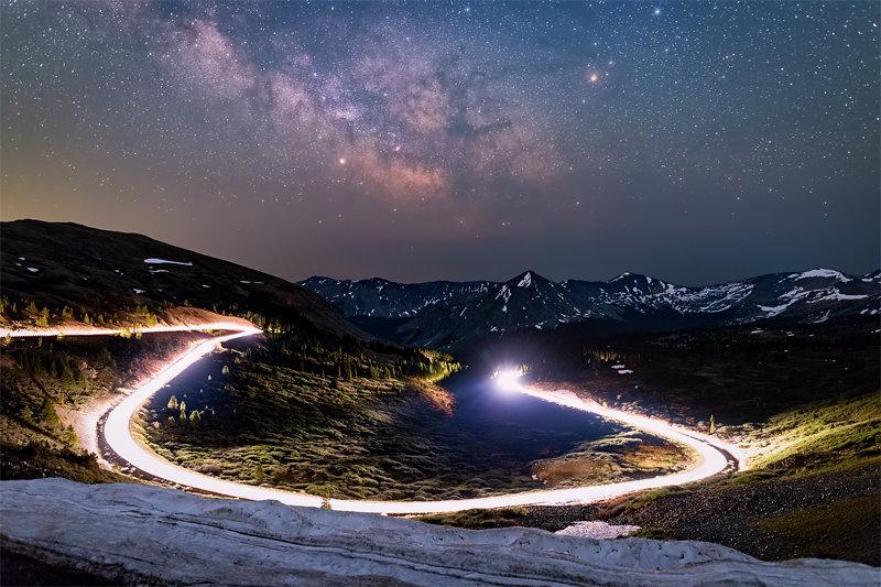 "12"" x 18"" METAL PRINT of Cottonwood Pass, Colorado"