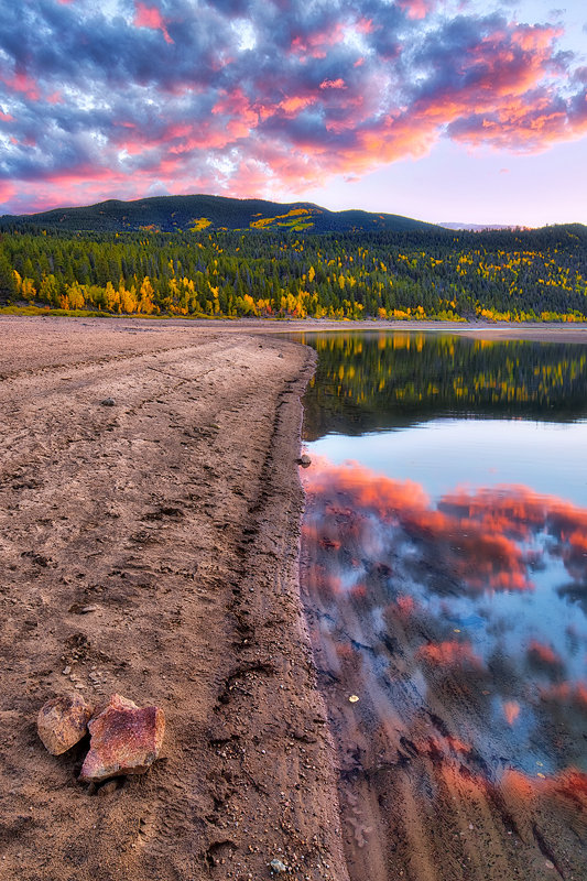 "12"" x 18"" METAL PRINT of Twin Lakes, Colorado"