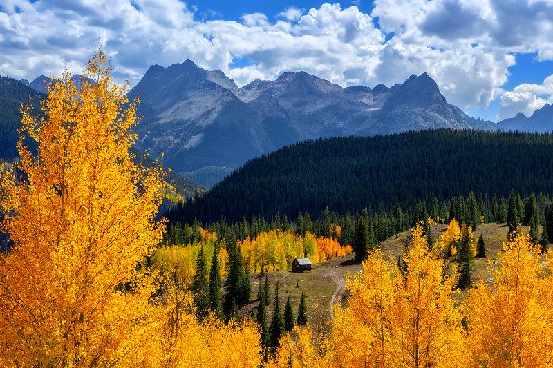 """12"""" x 18"""" METAL PRINT of San Juan Mountains, Colorado"""