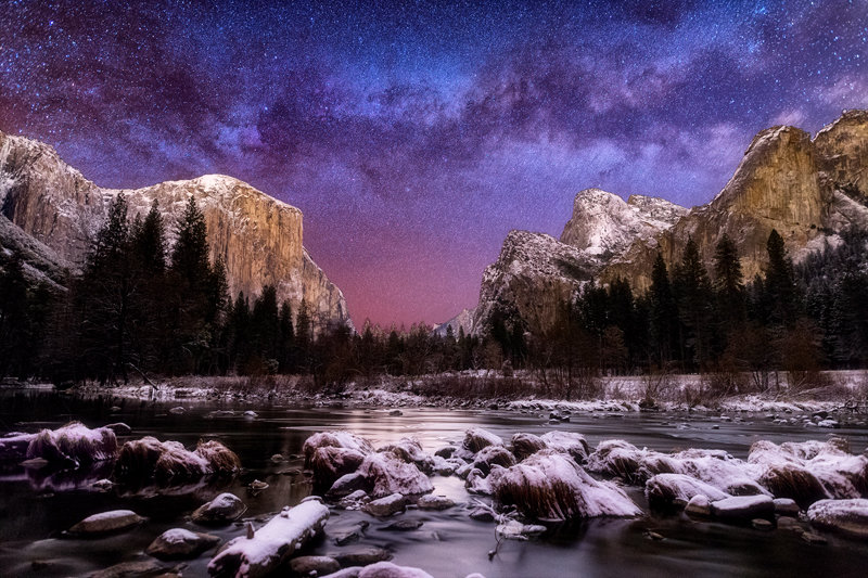 "12"" x 18"" METAL PRINT of Yosemite National Park, California"