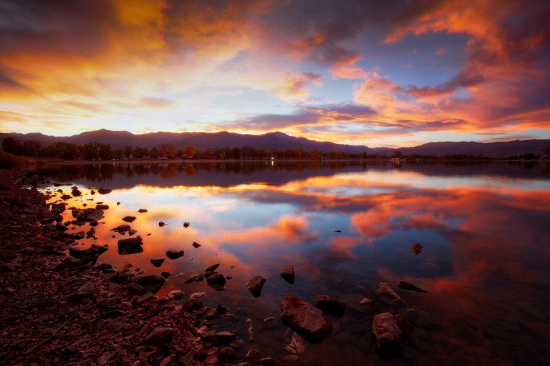 "24"" x 36"" Canvas Wrap of Prospect Lake Colorado Springs, Colorado"