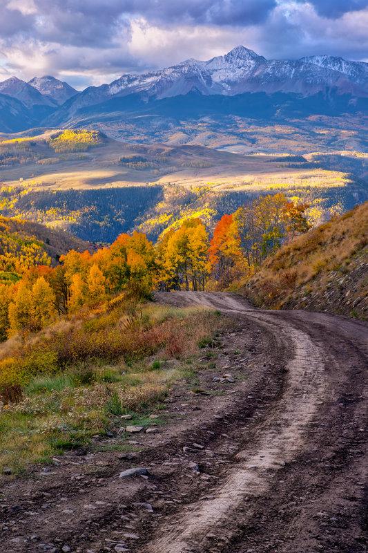 """20"""" x 30"""" Canvas Wrap of Last Dollar Road, Colorado"""