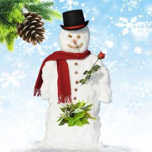Snowman Balls CH1006