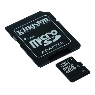 ΚΑΡΤΑ ΜΝΗΜΗΣ KINGSTON MICRO SDHC 16GB CLASS 10