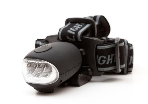 EVOLVEO EXPLORER HEAD MOUNTED LED FLASHLIGHT