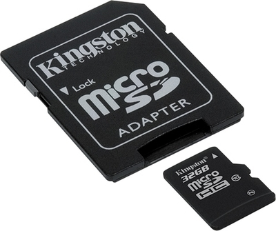 ΚΑΡΤΑ ΜΝΗΜΗΣ KINGSTON MICRO SDHC 32GB CLASS 10