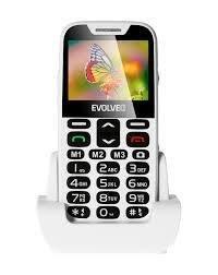 EVOLVEO EASYPHONE XD GR - ΑΣΠΡΟ ΧΡΩΜΑ.Ένα κινητό τηλέφωνο για ηλικιωμένους με βάση φόρτισης -ΝΕΟ ΜΟΝΤΕΛΟ