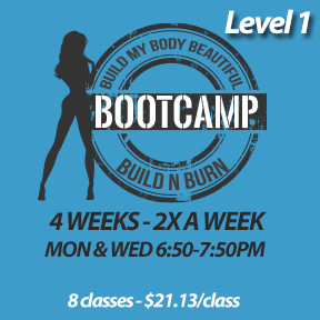 Mon, Apr 29 to Mon, May 27*  (4 weeks - 2x a week - 8 classes)
