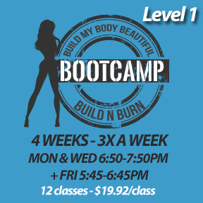 Mon, Apr 29 to Mon, May 27* (4 weeks - 3x a week - 12 classes)